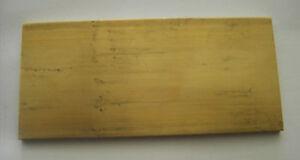 Messingblech Messingplatte Klingelplatte Schild Messing 140 mm x 65 mmn x 5 mm