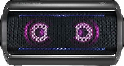 LG - LG PK7 Portable Bluetooth Speaker - Black