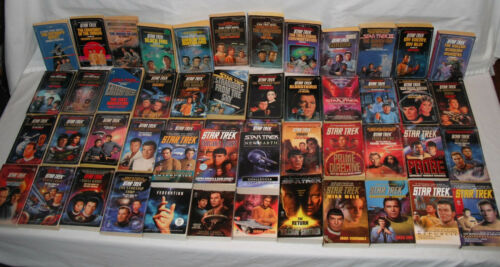 Star Trek Original Series 51 Book LOT Sci Fi TV Numbered Paperback Novel Pocket