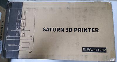 ELEGOO Saturn MSLA 3D Printer UV Photocuring LCD 3D Printer With 4K Monochrome L - $678.95
