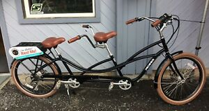 Tandem Bicycle, Electric