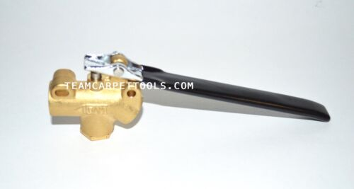 """Carpet Cleaning 1/4"""" DAM Brass Angle Valve 1250 PSI for Truckmount/Portable Wand"""