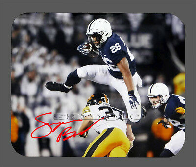 - Item#6907 Saquon Barkley Penn State Facsimile Autographed Mouse Pad