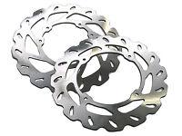 New Front & Rear Wavy Brake Disc KTM 85 03-16 Husqvarna TC 85 14-16 Motocross