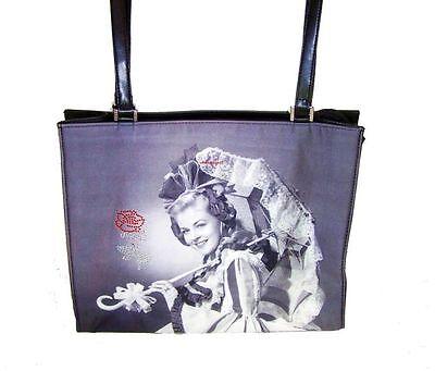 Strass Designer-handtasche (Designer Handtasche Lady Umbrella von Mario Moreno Retro Style Tasche mit Strass)
