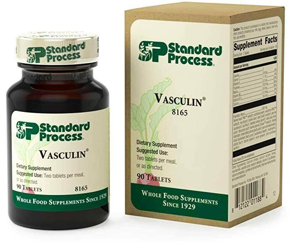 Standard Process SP Vasculin (90 Tablets)