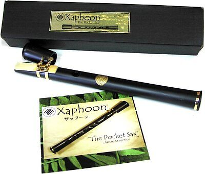 Xaphoon POCKET SAX Key in C Black  FREE SHIPPING for sale  Shipping to United States