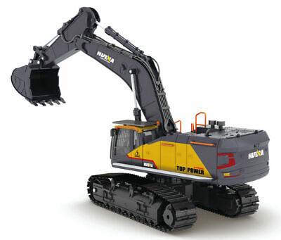 Huina 1592 Bagger XL Professional NEU in OVP Kettenbagger Komplettset 1:14 1:16