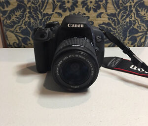 Canon 700d $700 with SD card $600 without Camden Camden Area Preview