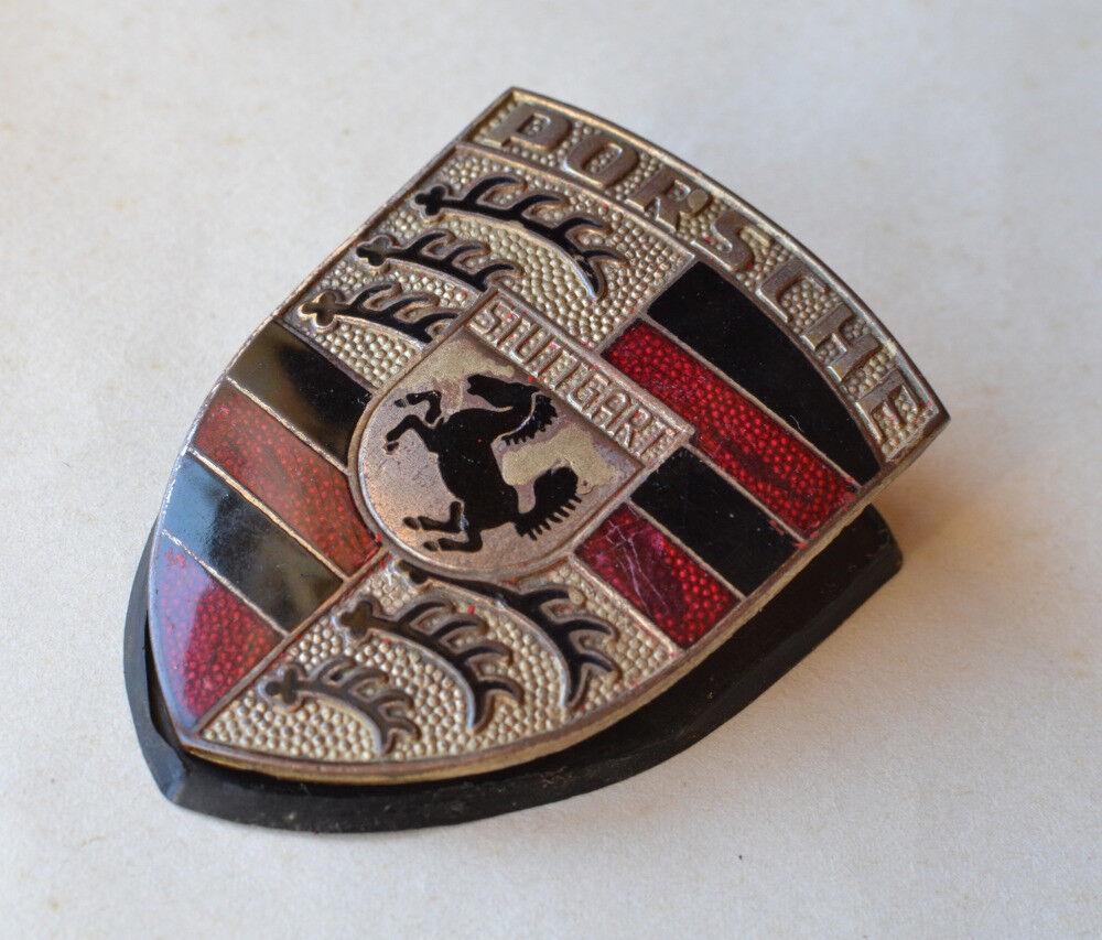 Vehicle Parts & Accessories Vintage Porsche Enamel Car Badge