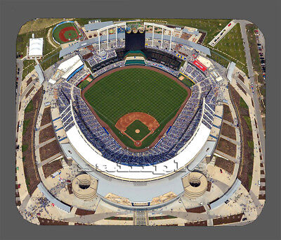 Kansas City Royals Kauffman Stadium (Item#5668 Kauffman Stadium Fly Over Kansas City Royals Mouse Pad)