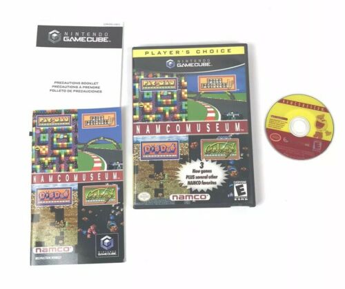 Namco Museum Nintendo Gamecube Game 2002 Complete Tested