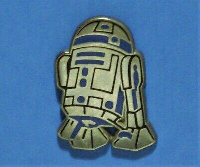 STAR WARS MOVIE - R2D2 ROBOT DROID - VINTAGE DISNEY & LUCAS LAPEL PIN - HAT PIN