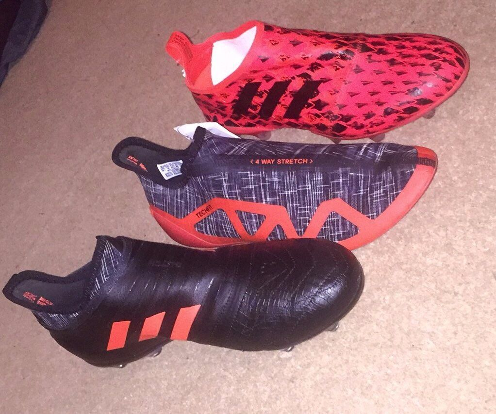 Adidas Glitch Football Boots Size 10 Rare Boots Worn Once