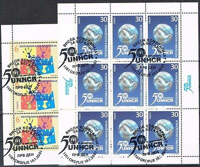 Mazedonien 213/14 o 2 KB UNO Michel 14,00 (2616)