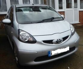 Toyota Aygo Platinum 1000cc, 5door with air con. Very good condition new clutch, disc and brake pads