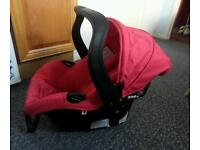Car seat (never been used) and pushchair travel system
