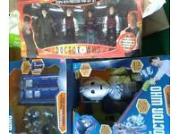 DR WHO BUNDLE ALL BRAND NEW TIME SQUAD FIGURES PROFESSOR YANA FIGURES CYBERMAN ATTACK