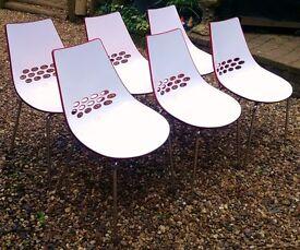 Calligaris jam chairs (x6)