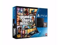 Boxed Sony Playstation 4 Refurbished Grade A* GTA V Bundle,Barely Used, Comes With Accesories 500GB