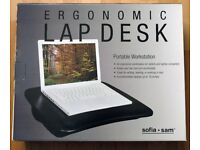 Laptop padded desk