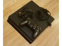 Sony PS4 Slim 500GB with controller and wires No Offers
