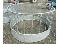 Ritchie Sheep ring feeder for hay silage etc fully galvanised two available