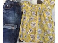Girls lovely jeans & top in excellent condition