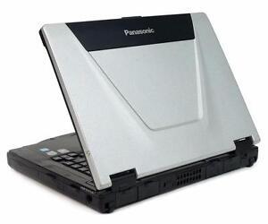 Panasonic Toughbook CF-52 Laptop intel core2Duo 4GB RAM Wifi DVDRW Windows7 1TB HD