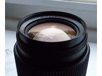 Carl Zeiss Jena DDR red MC 135mm prime lens