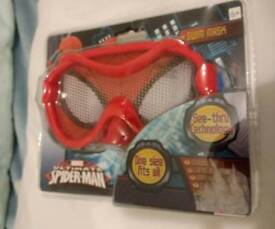 Spiderman swim mask 6+