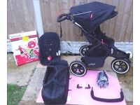 Phil & Teds Navigator 2.0 Double Buggy / Pushchair + Extras, Excellent Condition