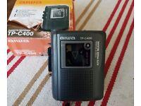 Aiwa TP C400 cassette recorder