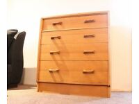 G Plan E Gomme Brandon Chest of Drawers Refurbished