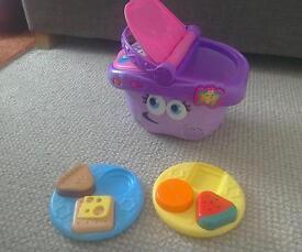 Leapfrog baby toddler picnic toy