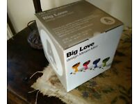 NEW - BLUE - di Alessi - Big Love - DESERT BOWL AND SPOON IN BOX