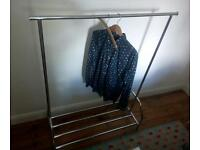 Habitat metal clothes rail rack wardrobe
