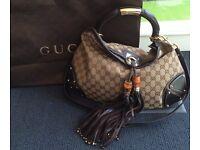 Genuine vintage Gucci handbag