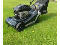 Hayter spirit self propelled rear roller mower