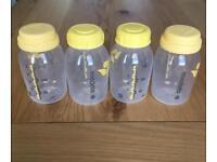 Medela 150ml Bottles x 4 (used)