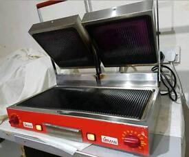 double panini grill sirman