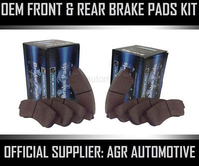 OEM SPEC FRONT AND REAR PADS FOR AUDI Q3 QUATTRO 2.0 TURBO 211 BHP 2011-