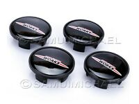 4 x JOHN COOPER WORKS MINI ALLOY WHEEL CENTRE CAPS 54mm EXCELLENT
