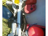 Dory boat 30 hp evinrude