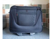 Tripp technology business travel flight bag, wheeled tote – black – excellent condition