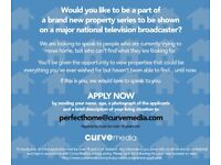 TV Property show, applications now open