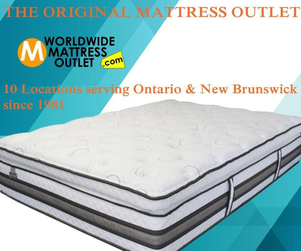 Brand New Canadian Made Mattresses In Hamilton