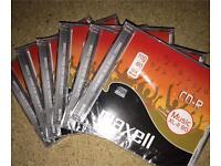 6 blank CD's.