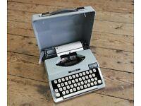 Vintage Fully Working Typewriter Imperial Signet Portable