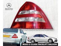 MERCEDES W203 C CLASS REAR LIGHT FACELIFT SALOON 04-07 RIGHT SIDE A2038202064R